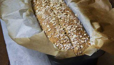 Pan brioche integrale ai fiocchi d'avena