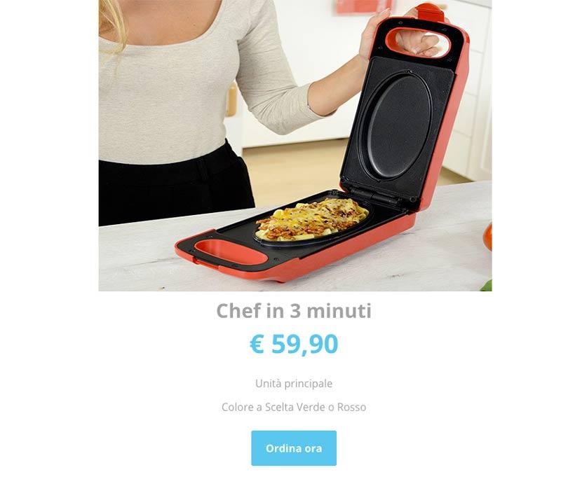 Prezzo di Chef in 3 minuti