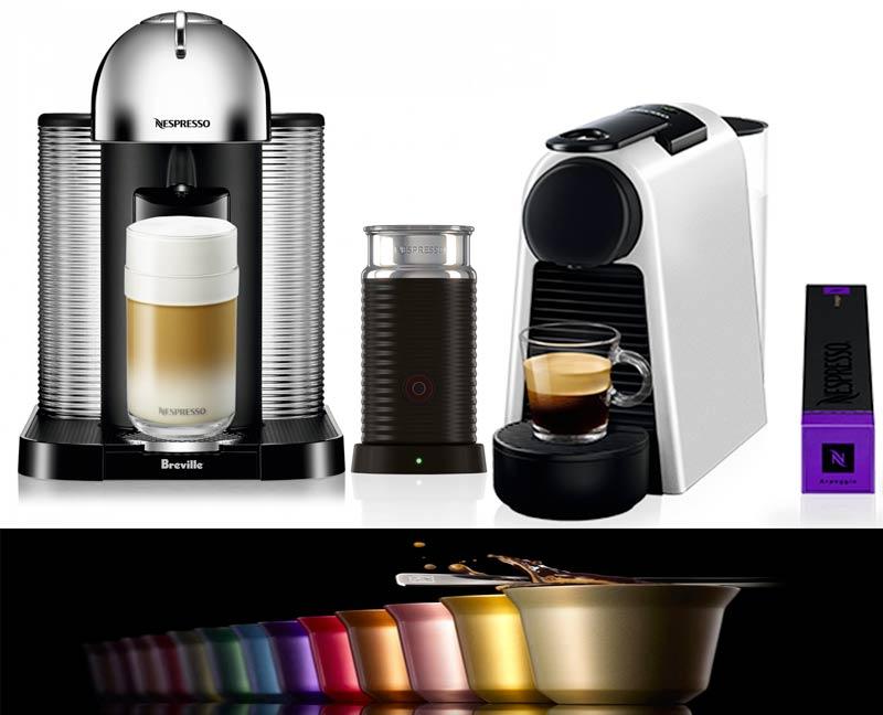 Macchinette Nespresso