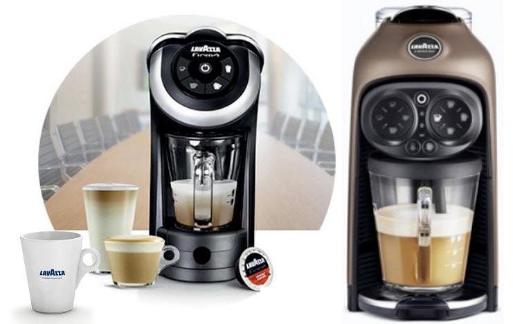 macchina del caffe lavazza