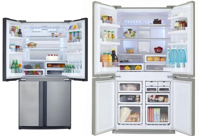 Funzioni dei frigo Sharp
