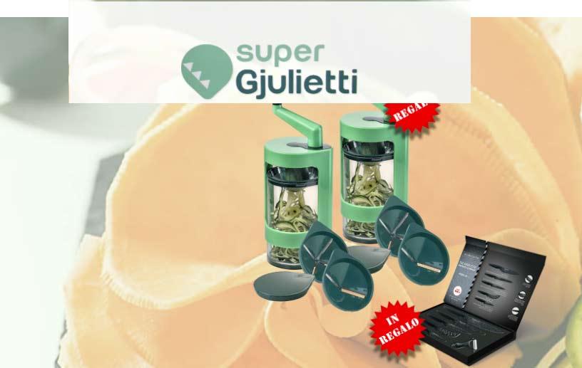 affetta verdure Super Gjulietti